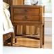 Durham Furniture Glen Terrace 2-Drawer Nightstand 131-202