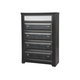 Ashley Alamadyre Five Drawer Chest in Black B364-46