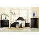 Legacy Classic Haven Low Poster Bedroom Set in Blackberry