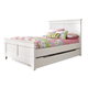 Ashley Iseydona Full Panel Bed with Trundle Under Bed Storage in White B256-87/84/86/60