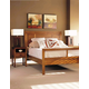 Durham Furniture Lodo Panel Bedroom Set with Low Panel Footboard