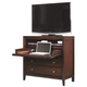 Aspenhome Genesis Liv360 Entertainment Chest in Kona Brown I10-486