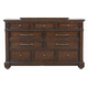 Pulaski Durango Ridge 10 Drawer Dresser in Brandy 673100
