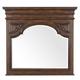 Pulaski Durango Ridge Beveled Framed Mirror in Brandy 673110