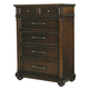 Pulaski Durango Ridge Tall 6 Drawer Chest in Brandy 673124