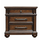 Pulaski Durango Ridge 3 Drawer Nightstand in Brandy 673140
