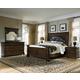 Pulaski Durango Ridge 4 Piece Panel Bedroom Set in Brandy