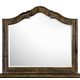 Magnussen Furniture Brenley Shaped Mirror in Natural Umber B2524-45