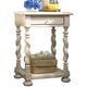 Paula Deen Home Sweet Tea Side Table in Linen