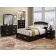 Alpine Furniture Madison 4-Piece Storage Platform Bedroom Set in Dark Espresso