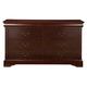 Alpine Furniture Louis Philippe 6 Drawer Dresser in Cherry