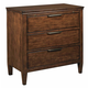 Kincaid Elise Solid Wood Bedside Chest in Amaretto 77-142
