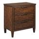 Kincaid Elise Solid Wood Nightstand in Amaretto 77-141