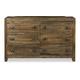 Magnussen Furniture River Road 6-Drawer Dresser in Distressed Natural B2375-20