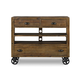 Magnussen Furniture River Road Media Chest with Casters in Distressed Natural B2375-36