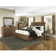 Magnussen Furniture River Road Island Bedroom Set in Distressed Natural