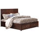 New Classic Kensington Youth Full Storage Bed in Burnished Cherry 05-060-F