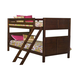 New Classic Kensington Youth Full Bunk Bed in Burnished Cherry 05-060-FB