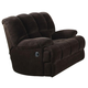 Acme Ahearn Rocker Recliner in Chocolate 50477