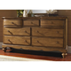 Hillsdale Hamptons Dresser in Weathered Pine 1553-717