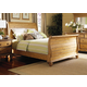 Hillsdale Hamptons King Sleigh Bed in Weathered Pine