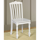 Hillsdale Lauren Desk Chair in Crisp White 1528-801