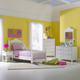 Hillsdale Lauren Poster Bedroom Set in Crisp White