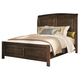 Coaster Laughton Casual Cal King Sleigh Bed in Cocoa Brown 203260KW