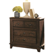 Coaster Laughton Casual Drawer Nightstand in Cocoa Brown 203262