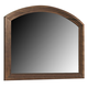 Coaster Laughton Casual Mirror in Cocoa Brown 203264