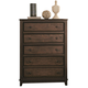 Coaster Laughton Casual Drawer Chest in Cocoa Brown 203265