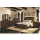 Coaster Laughton Casual Sleigh Bedroom Set in Cocoa Brown
