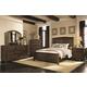 Coaster Laughton Casual Sleigh Bedroom Set in Cocoa Brown