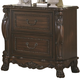 Coaster Abigail Drawer Nightstand in Cherry 204452