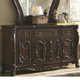 Coaster Abigail Drawer Dresser in Cherry 204453
