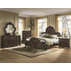 Coaster Abigail Bedroom Set w/ Lion Claws in Cherry