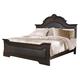 Coaster Cambridge Upholstered Queen Bed in Dark Cherry 203191Q