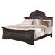 Coaster Cambridge Upholstered King Bed in Dark Cherry 203191KE