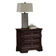 Coaster Cambridge Drawer Nightstand in Dark Cherry 203192