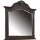 Coaster Cambridge Arched Dresser Mirror in Dark Cherry 203194