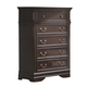 Coaster Cambridge Drawer Chest in Dark Cherry 203195