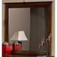 Hillsdale Metro Landscape Mirror in Rich Espresso 1154-721