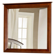 Hillsdale Metro Landscape Mirror in Warm Cherry 1155-721
