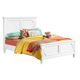 Standard Furniture Watercolor Youth Twin Panel Bed in Snow White