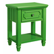 Standard Furniture Watercolor Youth Nightstand in Spring Green 84427
