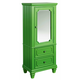 Standard Furniture Watercolor Youth Wardrobe in Spring Green 84426