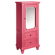 Standard Furniture Watercolor Youth Wardrobe in Watermelon Pink 84446