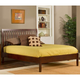 Hillsdale Metro Liza King Platform Bed in Warm Cherry