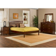 Hillsdale Metro Liza Platform Bedroom Set in Warm Cherry