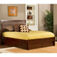 Hillsdale Metro Liza Queen Storage Platform Bed in Warm Cherry